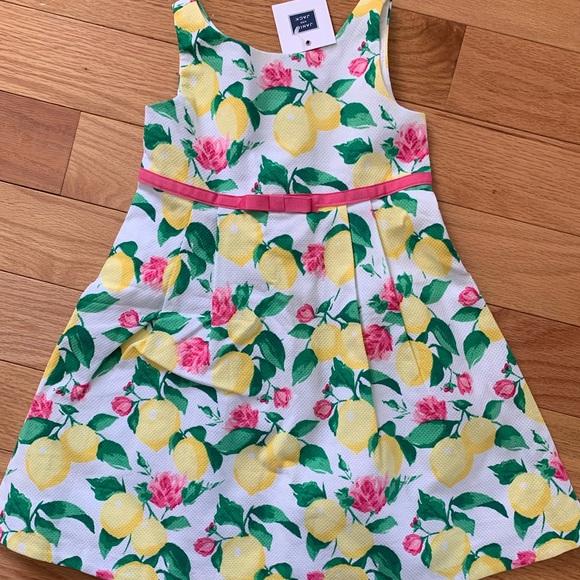 923223e02fe7 Janie   Jack lemon dress